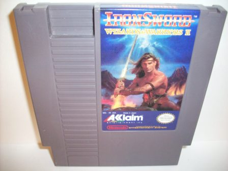 Wizards & Warriors II - Ironsword - NES Game